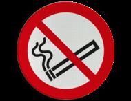 Verbodsbord P002 - Roken verboden