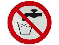Pictogram P005 - Geen drinkwater