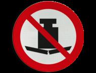 Pictogram P012 - Zwaar gewicht verboden