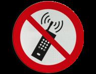 Verbodsbord P013 - Mobiele telefoon verboden