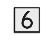 NS Seinbord 312 - snelheidsbord - 400x400mm