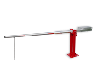 Slagboom (SH1) - RAL3020 - afsluitbaar - met contragewicht