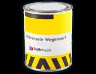 Universele Wegenverf  2,5l - Wit / Geel