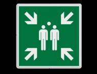 Veiligheidspictogram - Verzamelplaats - BT33 - E007