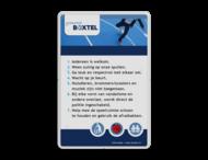 Informatiebord  Gemeente Boxtel | Speeltuinregels