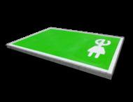 Markering - wegenverf -  Oplaadpunt E-stekker - volvlak
