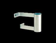 Wandbeugel verzinkt staal Ø76x190 mm - max. 7kg