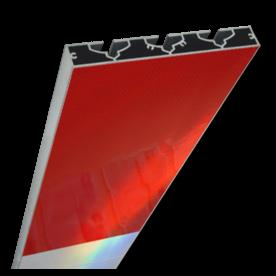 Schrikhekplank 5500mm lang VERZWAARD blokmotief. RVV BB16-1