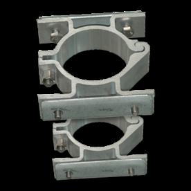 Bordbeugel dubbelzijdig (2 per/set) Ø76mm