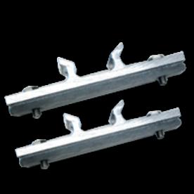 Bordbeugels anti-diefstal VARIABEL (set 2 stuks) exclusief RVS klemband