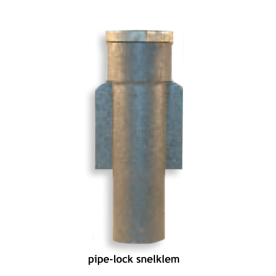 Grondpot 300 mm voor buis Ø60 mm