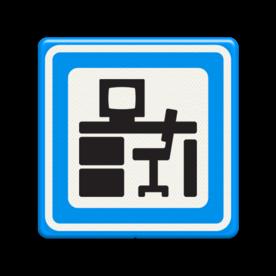 Verkeersbord RVV BW101_bureau