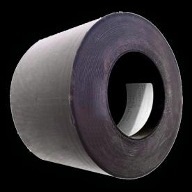 Afplakband  voor verkeersborden zwart (100 meter)