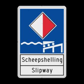 Scheepvaartbord BPR A.xx - Informatiebord - scheepshelling