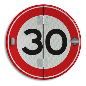 Klapbord - 4 standen - Rond conform RVV