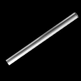 Buispaal Ø48x3000 mm boven maaiveld ALUMINIUM + afdekkap zonder ankergaten
