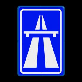 Verkeersbord RVV G01 - Autosnelweg