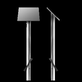Montagepaal 45º Lessenaar t.b.v. DOR bord - inclusief industrietape