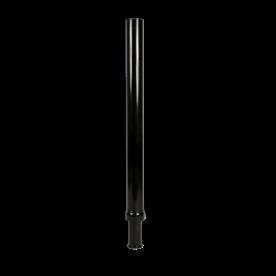 Mast-verlengstuk zwart RAL9017 t.b.v. verkeerslichtmast ø102/133mm