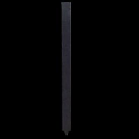 Montagepaal kunststof 100x100x1800mm met punt