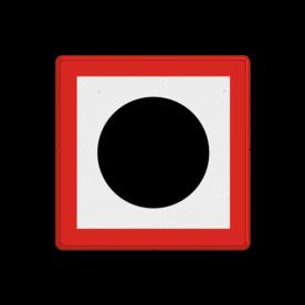 Scheepvaartbord BPR B. 7 - Verplicht een geluidssein te geven