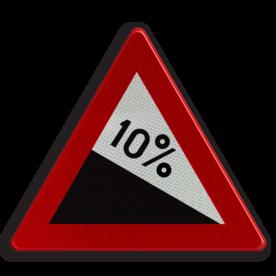 Verkeersbord België A3 - Gevaarlijke daling