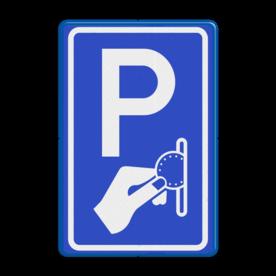 Verkeersbord RVV BW111 - Betaald parkeren