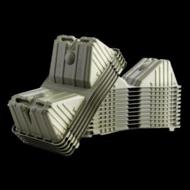 SCOOPER 180 stuks 100% composteerbare boxjes