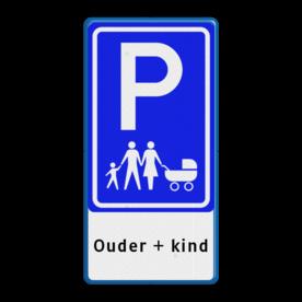 Verkeersbord E09 - ouder + kind