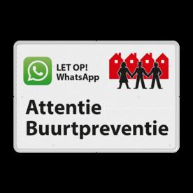 Verkeersbord L209f WhatsApp Buurtpreventie - 03