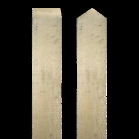 Paal eikenhout - 4000x100x100mm