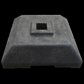 Baakvoet 400x400x100mm - 12 kg
