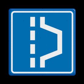 Verkeersbord RVV L14 - Vluchthaven