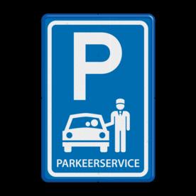 Verkeersbord RVV E08x - Parkeerservice - BT12