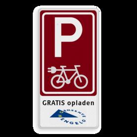Parkeren e-bike - in huisstijl