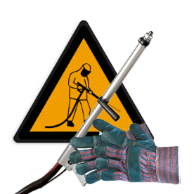 Bestaande markering verwijderen - (aanstralen / borstelen)