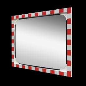 Verkeersspiegel veiligheidsglas 1000x800mm