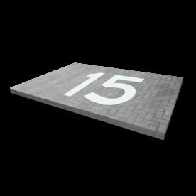 Markering tekens / figuratie - 1 t/m 3 tekens