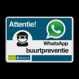 WhatsApp Nachbarschafsschutz mit eigenem Logo