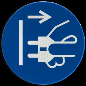 Pictogram M006 - Uit stopcontact halen alvorens uitvoeren van werkzaamheden