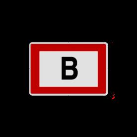 Brand bord S07 - Aansluitpunt droge blusleiding - 300x200mm