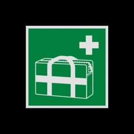 Pictogram E027 - Medische noodtas