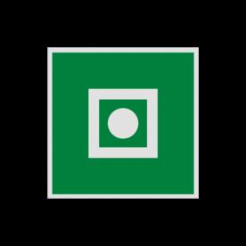 Pictogram E031 - Algemeen alarm aan boord