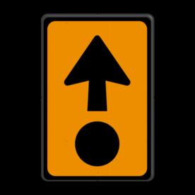 Verkeersbord RVV K14 - Gevaarlijke stoffen