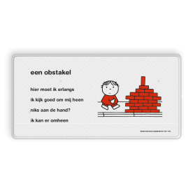 Dick Bruna - Lesbord - een obstakel