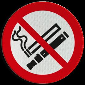 Verbodsbord - No Smoking and Vaping
