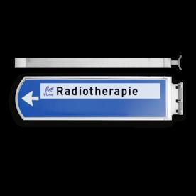 Lichtwegwijzer LWW1rw - LED - RVS behuizing 1875x120x580mm
