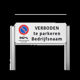 Parkeerplaatsbord unit TS3 - E01 + wsr + eigen tekst