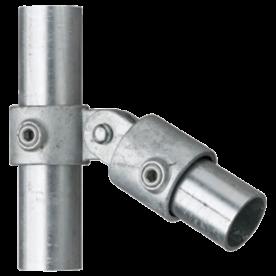 Paalbeugel scharnierstuk enkel Ø48mm staal
