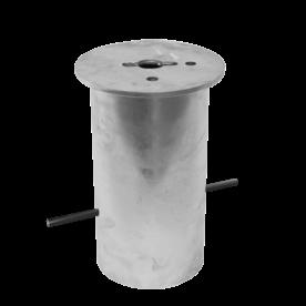 Grondstuk rond Ø200 (305mm diep)